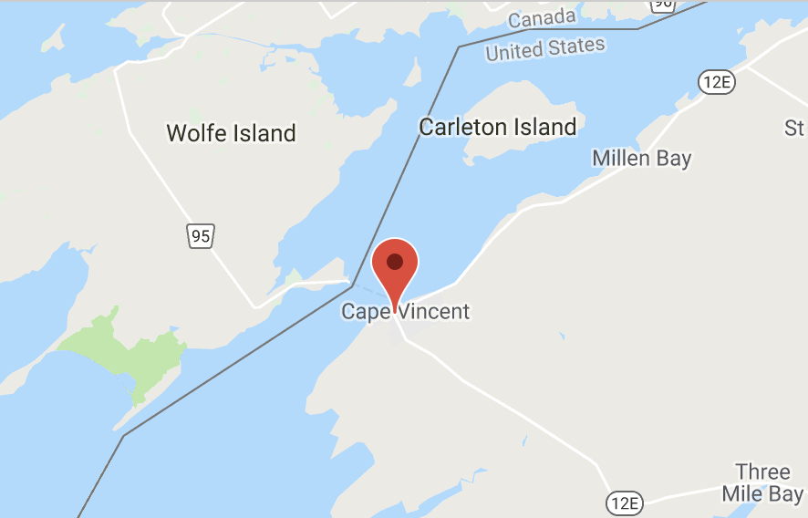 VillageCapeVincent map